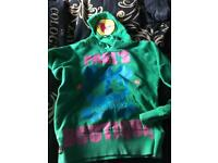 Designer Paul's boutique hoodie skull small