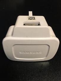Genuine Samsung charger plug