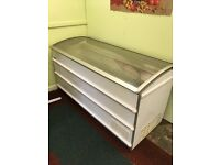 For sale large white chest freezer
