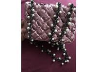 ASOS pearl handbag