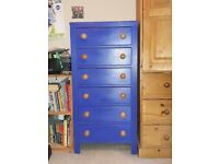 Chest of drawers, ideal for a child's bedroom