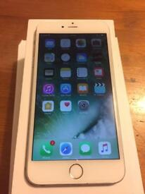 Apple iPhone 6 Plus - 64GB - Silver (O2) - Boxed - Good Condition