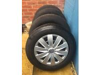 4 VW T5/T6 WHEELS AND TYRES