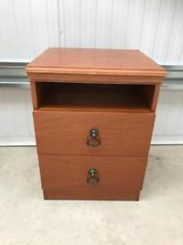 Bedside table FREE DELIVERY PLYMOUTH AREA