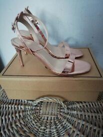Asos Rose gold heels size 5.5