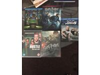 """""""The Green Hornet"""", """"Fast & Furious 5"""", """"Hustle: Season 1"""", """"Harry Potter: And the Deatbly Hallows"""""""