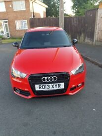 Audi A1 1.4 Amplified Edition 2013 TFSI 3 door petrol manual service history hatch back catd £5800