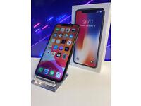 Iphone X 64GB BLACK VODAFONE BRAND NEW Condition