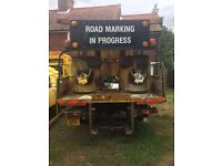 Road marking lorry diesel fired boilers