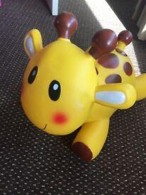 Bounce on giraffe elc
