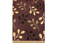 ARGOS purple large rug 228cm x 160cm