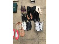12 Pairs Of Women's Shoes