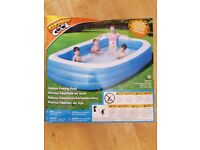 Sizzling Cool Large 120 x 72 x 22-inches Deluxe Family Water Pool