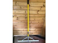 "Roughneck Aluminium Landscaping Rake 36"" (Collect SK6 High Lane, Stockport)"