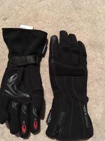 Richa motorbike gloves - worn once small