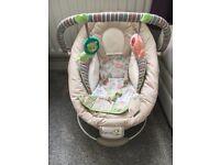 Ingenuity cozy kingdom baby bouncer