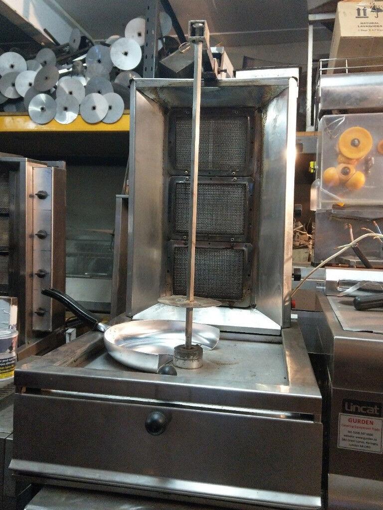 kebab machine 3 burner nat gas