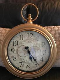 Large Pocket watch style clock