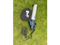 Macallister garden vac leaf blower