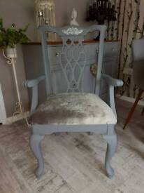 Chippendale Occasional/Bedroom chair