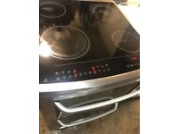 Electrolux 60cm Stainless Steel Fully Working Electric Ceramic Plate Cooker With Fan Assisted oven