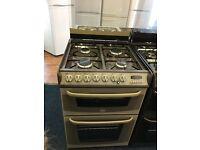 CANNON 60CM DUAL FUEL COOKER IN BRONZE WITH LID. W