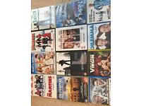 50p DVDs including Jim Carey, Will Ferrell, Robert De Niro, Richard Gere, Vince Vaughn