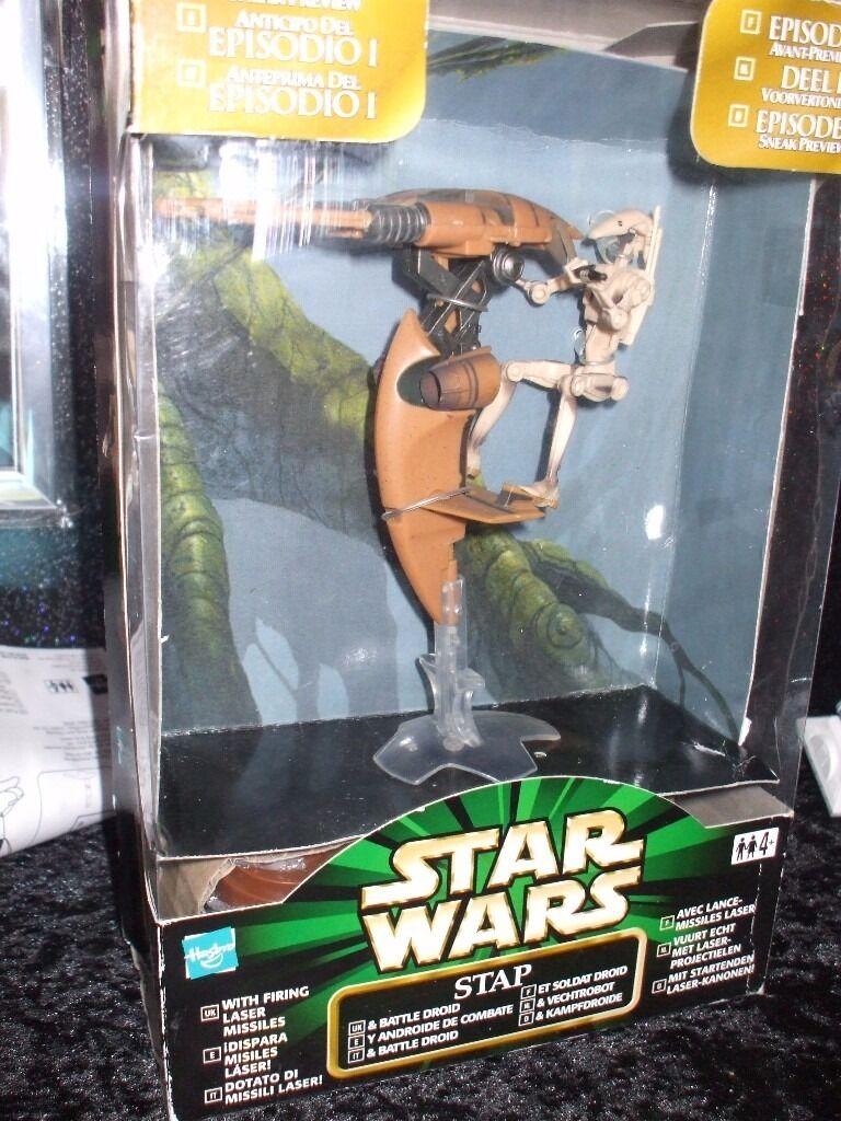 Star Wars Battle Droid & S.T.A.P. Speeder