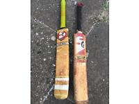 2 x SG cricket bats