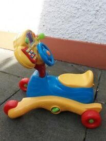 Vtech baby go and ride on