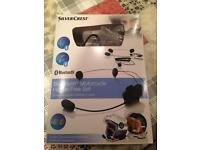 Bluetooth motor cycle hands free set new