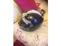 shark crash helmet
