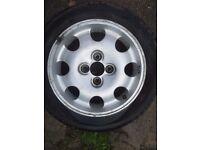 "Genuine Peugeot 205 1.9 GTI 15"" Original Alloy Wheel 309 1.6 Rallye"