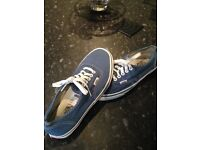 Vans shoes as new size 6