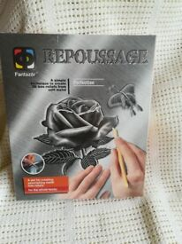 REPOUSSAGE/SOFT METAL KIT ~ ROSE ~ NEW