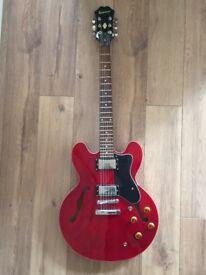Epiphone Dot Cherry ES-335 Semi Acoustic Electric Guitar
