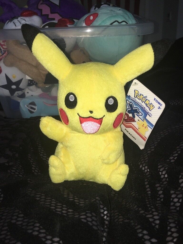 Pokemon Plush BUNDLE x6 All authentic Japan imports. Bought from Comic-con never used