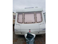 TWO BERTH TOURING CARAVAN,COMPLETE WITH AWNING AND ALL ACCESSORIES,NEW TYRES LAST YEAR,READY TO USE,