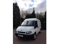 Ford transit 68 on clock 12 month mot no rust
