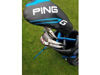Ping G30 irons set with Ping G driver