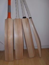Cricket Bats Brand New - English Willow - Price £60 Only