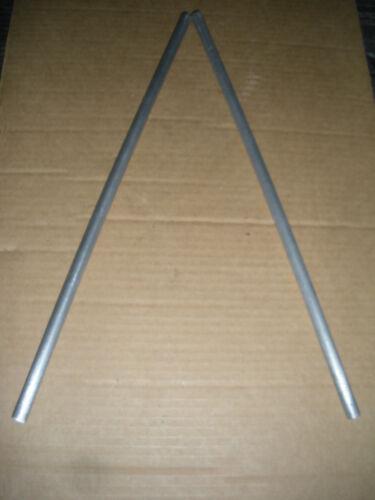 "1/2"" aluminum rod lab frame Flexaframe Fisher  24-26"" 2pcs 1pr lattice 9 avail"