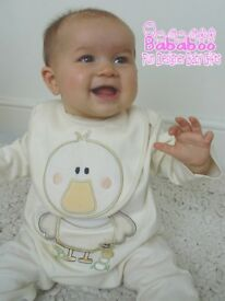 Designer Baby Rompers and Tops 0-3, 3-6 & 6-9 mths. Have previously retailed between £10 to £18