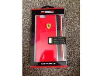 Ferrari iPhone 6 Plus/ 6s plus phone case with real carbon fibre Brand new