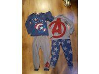 Captain America Pyjamas Age 8 Years