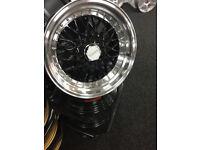 """BMW 3 series e21 e30 325 brand new Alloy wheels 16"""" inch x 9j alloys wheel Renault 19 21 clio megane"""