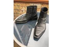 Tom Wolfe men's black boots