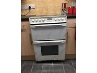 White and Black Gas/Electric Cooker - £40