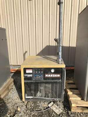 Kaeser Krd250 Refrigerated Air Dryer 250scfm 100psig 460v 3ph