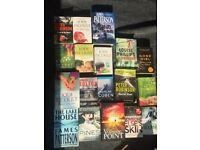 18 Crime/mystery/thriller Books